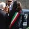 L'arrivo della neo Presidente del Senato Maria Elisabetta Alberti Casellati