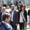 Le autorità con Roberto Fico, neo Presidente della Camera