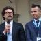 Danilo Toninelli, neo Ministro delle Infrastrutture e dei Trasporti e Andrea Levy