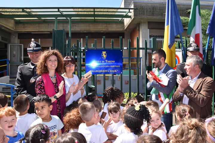 Intitolata a Margherita Hack al scuola dell'infanzia di via Coppino