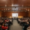 La Sala Gialla del Lingotto Fiere durante la conferenza di inaugurazione