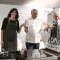 Lo chef Scabin da il via alla sfida di cucina fra la Sindaca Appendino e il presidente di Iren Peveraro