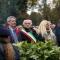 Con la fascia Tricolore Sergio Rolando e a destra Mauro Marinari