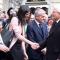 La Sindaca Appendino accoglie il Presidente Mattarella al teatro Carignano