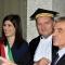 Chiara Appendino, Guido Saracco e Sergio Chiamparino
