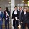 Simone Clot, Chiara Appendino, Guido Saracco, Giuseppe Valditara e Sergio Chiamparino