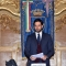 Enzo Lavolta, Vicepresidente del Consiglio Comunale, apre la cerimonia in Sala Rossa