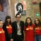 Nicola Lagioia con le ragazze del BookStock