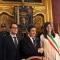 Roberto Finardi, Francesco Sicari, Urbano Cairo, Chiara Appendino e Sergio Chiamparino