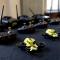 Mini droni in Sala Colonne