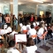 Alla scuola media Marconi un'orchestra composta dai bambini frequentanti i corsi di strumento hanno suonato i Carmina Burana