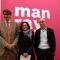 Emanuele Chieli e Walter Guadagnini, presidente e direttore di Camera con l'Assessora Francesca Leon