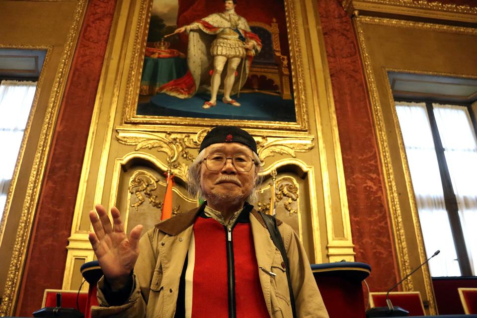 Il maestro Leiji Matsumoto a Torino per i 40 anni di Capitan Harlock in TV