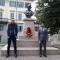 Il Console Generale dell'India di Milano, George Binoy, e l'Assessore alle Politiche per l'Ambiente della Città, Alberto Unia
