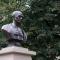 Il busto a Mahatma Gandhi ai Giardini Cavour