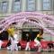 Le esibizoni in piazza San Carlo